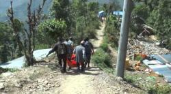 Embedded thumbnail for Nepal Erbebenhilfe, Medizin in Charikot 05/2015