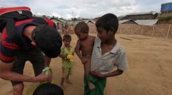 Embedded thumbnail for Unterstützung für Rohingya Flüchtlinge in Bangladesch - Video 1
